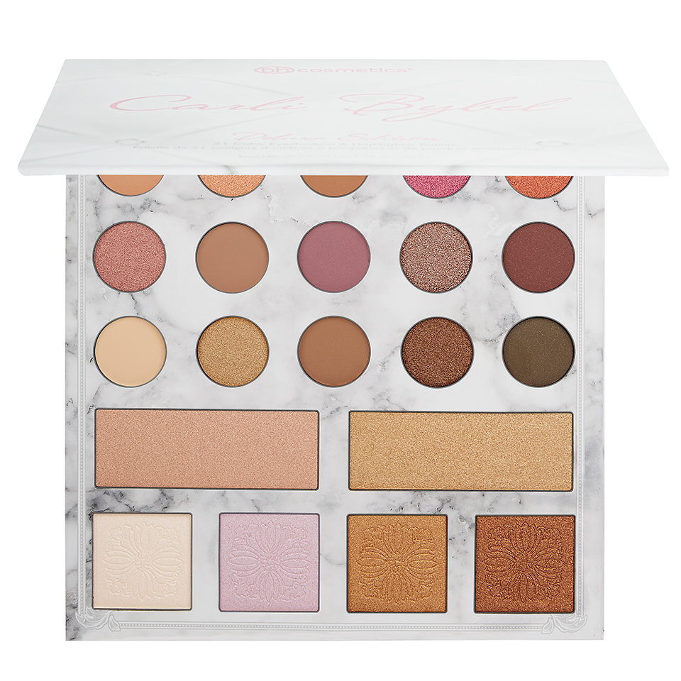 BH Cosmetics Carli Bybel Deluxe Edition – 21 Color Eyeshadow & Highlighter Palette – BeautyMart NG